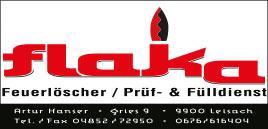flaka – Feuerlöscher, Prüf- und Fülldienst