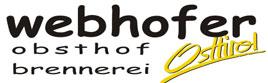 Webhofer – Obsthof – Brennerei – Hofladen