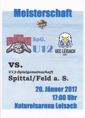 20170120_U12 vs Spittal FeldSee