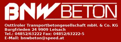 BNW Beton